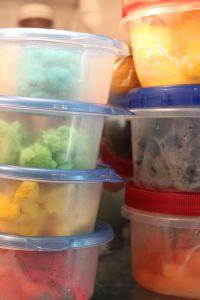 in fridge