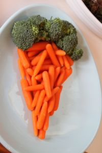 carrots and brocoli