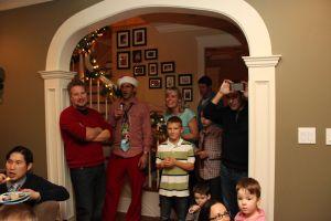 festive crowd